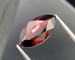 3.58 Cts Vivid Red Top Quality Marquise Spinel Unheated Burma