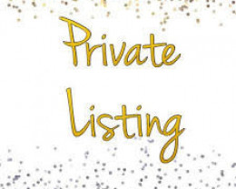 Private Listing for special customer ( dennish24  )