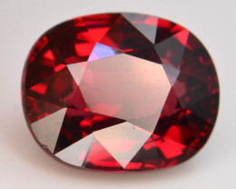 AAA Cut 3.10 Ct Natural Ravishing Color Rhodolite Garnet