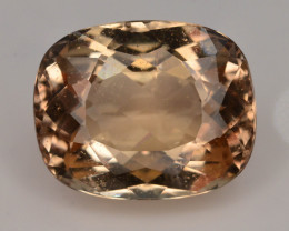 Top Quality 9.25 ct Champagne Color Topaz Skardu Pakistan