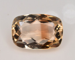 Top Quality 8.35 ct Champagne Color Topaz Skardu Pakistan