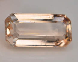 Top Quality 7.45 ct Champagne Color Topaz Skardu Pakistan