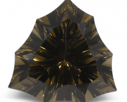 20.8ct Trillion Smoky Quartz Fantasy/Fancy Cut