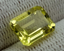 3.45CT LEMON QUARTZ  BEST QUALITY GEMSTONE IIGC59