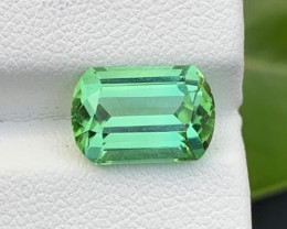 4.05 Ct Natural Mint Green Tourmaline