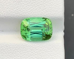 Loupe Clean 3.20 Ct Natural Mint Green Tourmaline