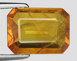 3.76 CT YELLOW SAPPHIRE FROM THAILAND SIAM YS1