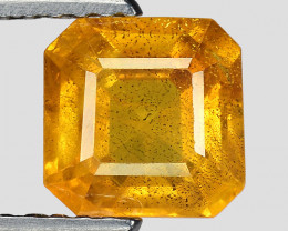 1.67 CT YELLOW SAPPHIRE FROM THAILAND SIAM YS19