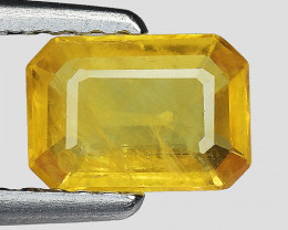 0.80 CT YELLOW SAPPHIRE FROM THAILAND SIAM YS34