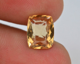 2.0 Ct Natural Heliodor AAA Grade Yellow Color