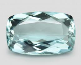 2.52 Un Heated  Sky Blue Color Natural Aquamarine Loose Gemstone