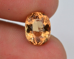 2.25 Ct Natural Heliodor AAA Grade Yellow Color