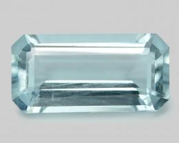 2.45 Un Heated  Sky Blue Color Natural Aquamarine Loose Gemstone