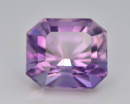 Top Color 9.65 ct AAA Cut Untreated Amethyst~ AS