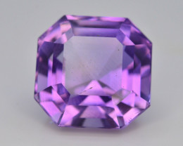 Top Color 9.95 ct AAA Cut Untreated Amethyst~ AS