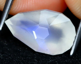 Blue Moonstone 2.83Ct Master Cut Natural Ceylon Icy Moonstone AT0425