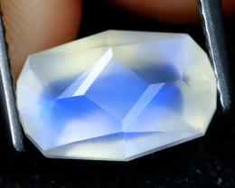 Blue Moonstone 2.64Ct Master Cut Natural Ceylon Icy Moonstone AT0433