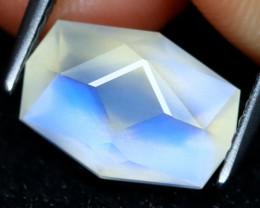 Blue Moonstone 2.67Ct Master Cut Natural Ceylon Icy Moonstone AT0434