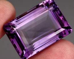 79.00 Ct. Top Quality 100% Natural Rich Purple Amethyst Uruguay Unheated