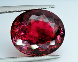 21.35  Ct.   Natural Earth Mined Tourmaline Rubellite - ALGT Certificate