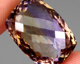 28.43 ct. 100% Natural Earth Mined Top Quality Ametrine Bolivia Unheated