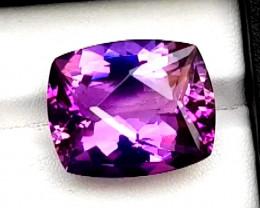 29 Carats  Grade Natural Amethyst Fancy Cut Gemstone