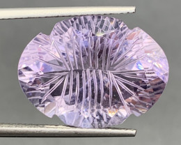 PINK 15.09 CT Amethyst  Gemstones