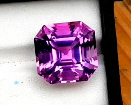 21.65 Carats Grade Natural Amethyst Fancy Cut Gemstone