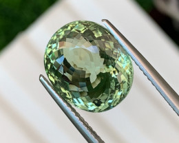 7.39 Cts VVS Mint Green Amazing Quality Natural Tourmaline