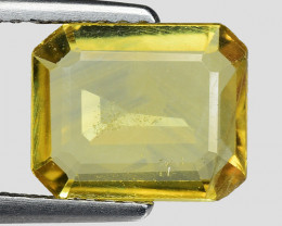 1.80 Cts Yellow Sapphire Sparkling Intense SY5