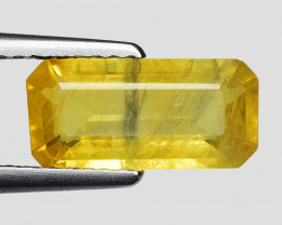 1.98 Cts Yellow Sapphire Sparkling Intense SY13