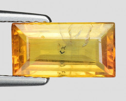 2.08 Cts Yellow Sapphire Sparkling Intense SY16