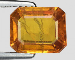 2.24 Cts Yellow Sapphire Sparkling Intense SY18
