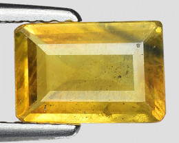 1.44 Cts Yellow Sapphire Sparkling Intense SY24