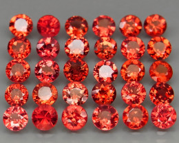 10.25  ct.  Natural Earth Mined   Rhodolite Garnet Africa - 30 Pcs