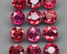 10.86  ct. 100% Natural Earth Mined Top Quality Pink  Rhodolite Garnet Afri
