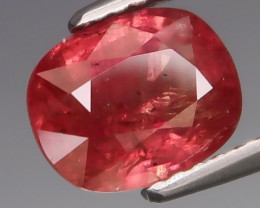 2.27Ct.UNHEATED! Best Color Hot Red Pink Ruby Winza,Tanzania Good Luster!