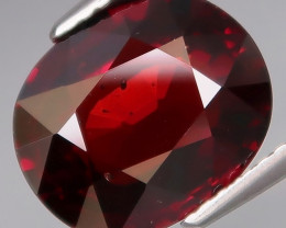 5.10 Ct.100% Natural Earth Mined  Red Rhodolite Garnet Africa