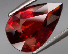 5.82 Ct. Outstanding Color&Full Fire! Natural Red Spessartite Garnet Africa