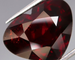 11.80Ct.Outstanding Color Natural BIG Red Spessartite Garnet Africa HEART l