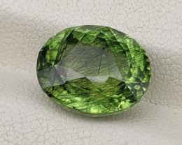 Rutile Peridot 7.99 carats