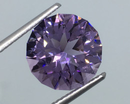 3.93 Carat VVS Amethyst Master Cut to Perfection !