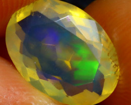 Welo Opal 1.92Ct Natural Ethiopian Play of Color Opal ER130/A28