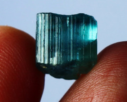 17.10 CT Natural - Unheated Green Tourmaline Crystal