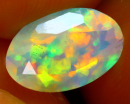 Welo Opal 1.41Ct Natural Ethiopian Play of Color Opal ER88/A3