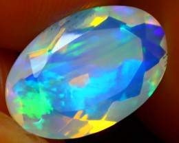 Welo Opal 2.35Ct Natural Ethiopian Play of Color Opal ER91/A3