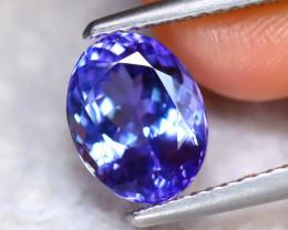 Tanzanite 2.48Ct Natural VVS Purplish Blue Tanzanite ER99/D8