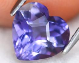 Iolite 1.31Ct VVS Master Cut Natural Purplish Blue Iolite A2516