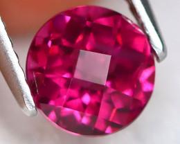 Rhodolite 1.47Ct VS2 Pixalated Cut Natural Rhodolite Garnet A2517