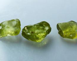 4.85CT Natural - Unheated Green Sapphire Rough